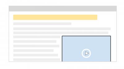 デスクトップでの動画の掲載位置
